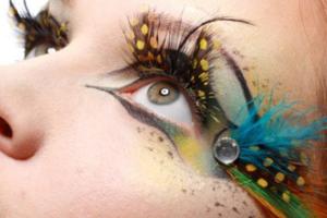 make-carnaval-rosto