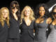 "The Spice Girls pose after naming a Virgin Atlantic Boeing 747 plane ""Spice One"" in their honor at Los Angeles International Airport, 12 December 2007. From left are: Geri Halliwell, Melanie Chisholm, Emma Burton, Melanie Brown and Victoria Beckham. AFP PHOTO GABRIEL BOUYS (Photo credit should read GABRIEL BOUYS/AFP/Getty Images)"